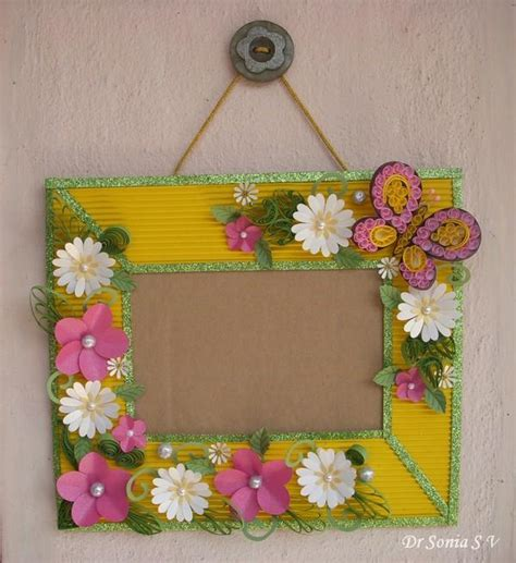 Simple Handmade Crafts - ideas to make different decorative things for home