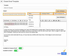 Compose Email Template how do i create email templates in direct caigns app