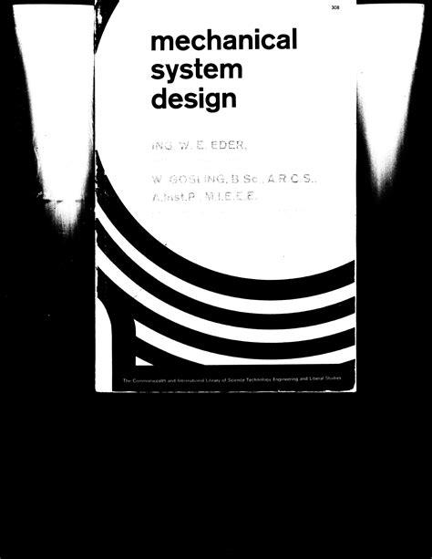 mechanical design company profile pdf mechanical system design pdf download available