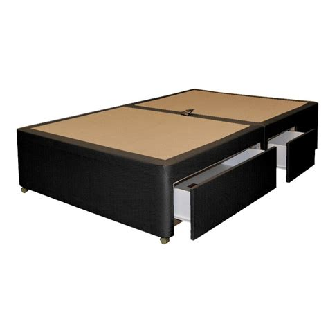 Bed Base Drawers by 4 Drawer Divan Base