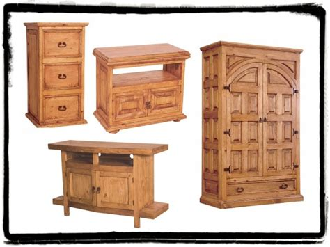 two types of pine furniture mexican rustic furniture and