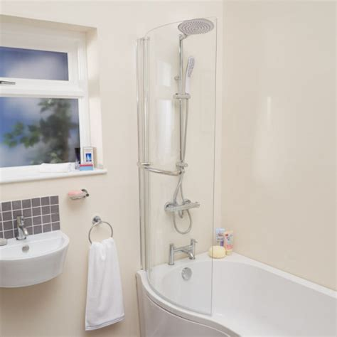 curved bath shower screens curved shower bath screen with towel rail