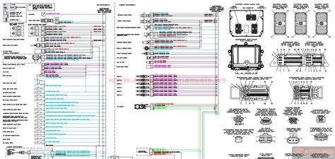 n14 celect wiring diagrams for freightliner trucks wiring