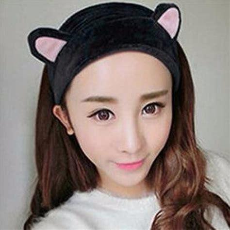 hairstyles with elastic headband 1pcs fashion cute ears elastic hair accessories turban