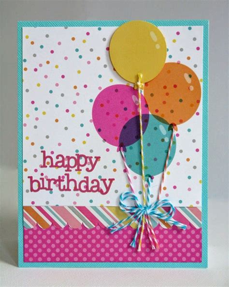 Handmade Greetings For Birthday - 25 best ideas about diy birthday cards on