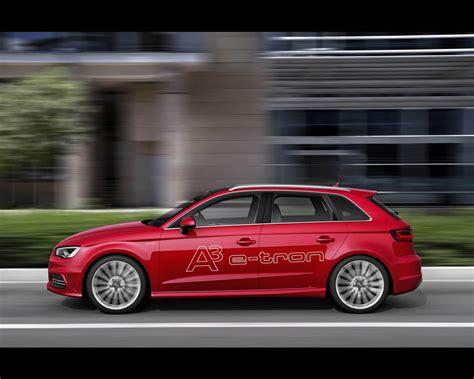 Audi A3 Hybrid by Audi A3 E Sportback In Hybrid Prototype 2013