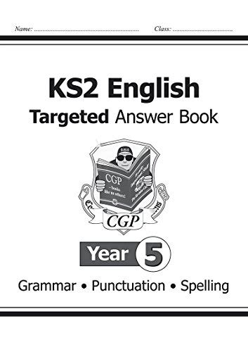 year 5 english targeted 0008201676 ks2 english targeted question book grammar year 5