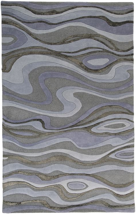 Grey Rugs by Surya Modern Classics Light Gray Blue Gray Rug