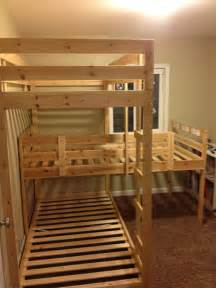 Bunk Bed For 3 An Update And Building A Bunk Bed Team Vandervelde