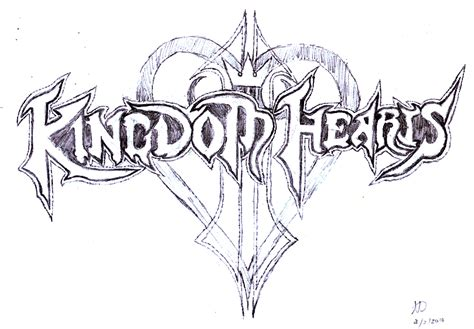 kingdom hearts 2 logo free logo download