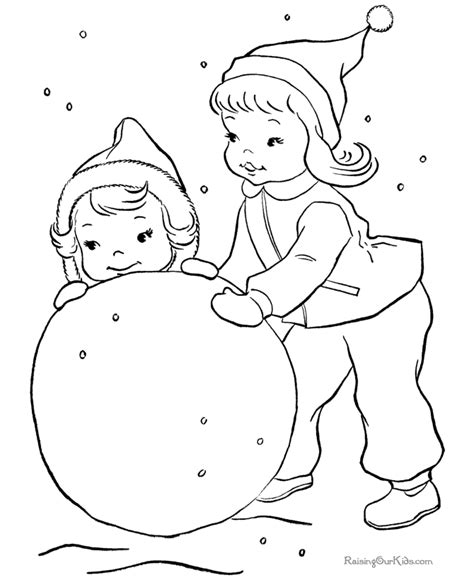 Snowing Coloring Pages snow coloring page az coloring pages