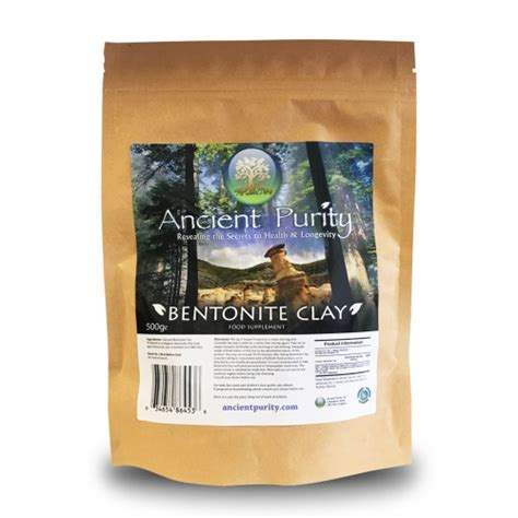 Detox Systems From Thrive by Organic Bentonite Clay 500g Detox Cleanse Thrive