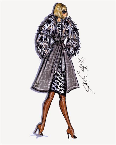 fashion illustration winter wear hayden williams fashion illustrations style on the go