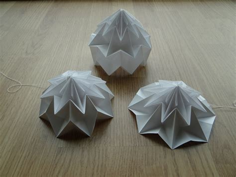 How To Make An Origami Sphere - creating my own lshades based on the origami magic
