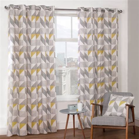 yellow and grey patterned curtains best 25 yellow and grey curtains ideas on pinterest