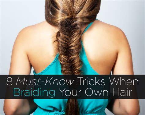 ponytails that attach to your own hair with a rubberband 8 must know tricks when braiding your own hair