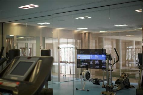 home gym design uk audio visual installation in gym of luxury home interior
