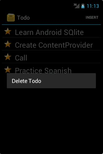 tutorial android vogella arunbloggers android sqlite database and content provider