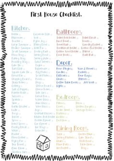 new house checklist of things needed 1000 images about buying and selling on pinterest