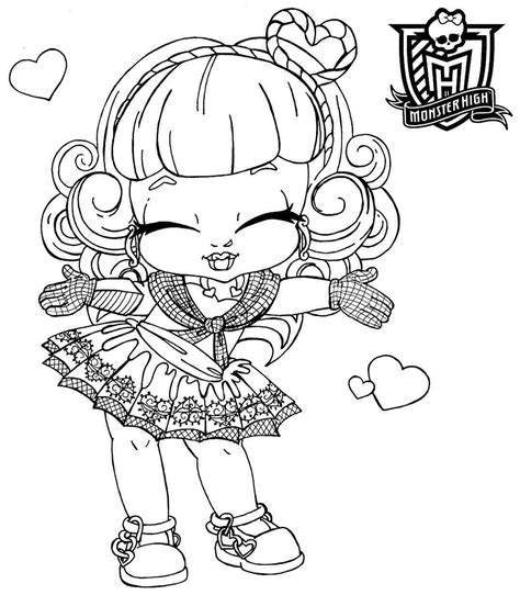 Coloring Pages For Girls Monster High Bestofcoloring Com Coloring Pages For High Printable Free