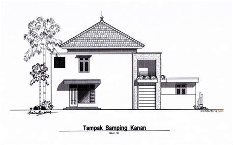 ragam desain rumah tinggal sekaligus rumah kost counter hp wartel atau warnet