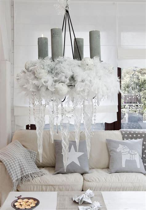 wohnzimmer zu weihnachten dekorieren  inspirationen