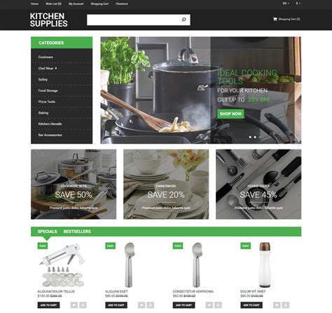 top 25 lemon theme kitchen decor ideas 2016 25 best responsive opencart ecommerce themes