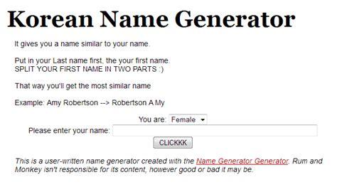 membuat nama korea dengan name generator buat nama korea yukk blog mlop35