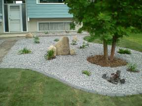 Garden Gravel Stones Boulders Feature Rocks Bubblers Whitemud Landscaping