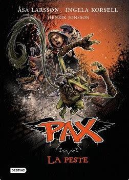 libro pax pax la peste planeta de libros