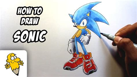 doodle how do you make chaos how to draw sonic the hedgehog drawing tutorial