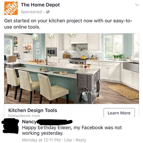 ad on for home depot the contribution