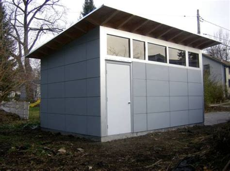 Contemporary Storage Shed Studios The Roof And Sheds On