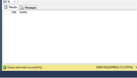 cara membuat query pada sql server informatika itn malang cara membuat stored procedure dan