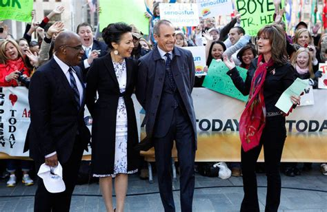 today show decorations change palin joins lamestream media on today show