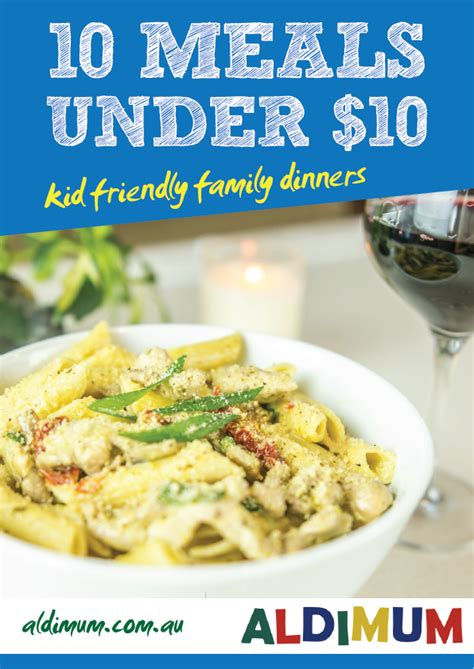 family dinner cookbook a variety of 180 easy dinner recipes that are so delicious the whole family will them books 10 meals 10 kid friendly family meals aldimum
