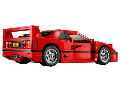 Lego Ferrari F40 announced: iconic 1987 supercar?s