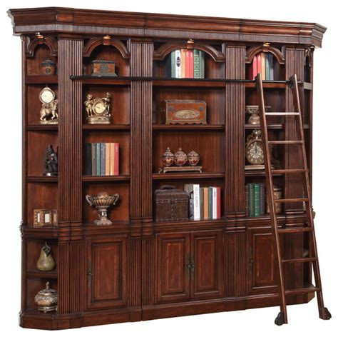 library style bookcase with ladder 31 amazing bookcases with ladders yvotube