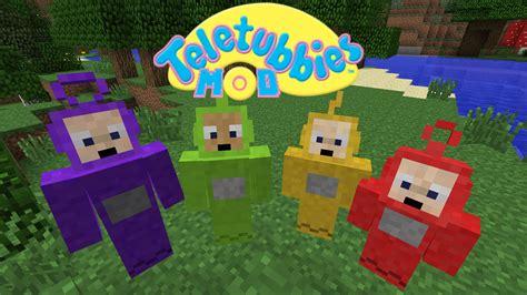 mod game minecraft teletubbies mod mobs minecraft mods curse