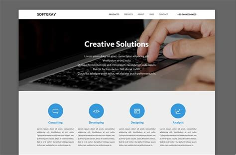 Simple Template Website by Simple Website Templates Madinbelgrade