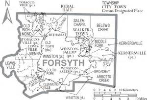 forsyth county carolina history genealogy records