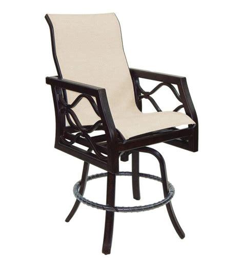 Patio Furniture Rockville Md Northern Virginia Castelle Villa Bianca High Back Sling