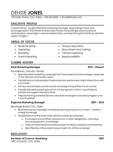 chief marketing officer cmo resume