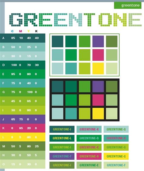 green combination color graphic design color green tone color schemes color
