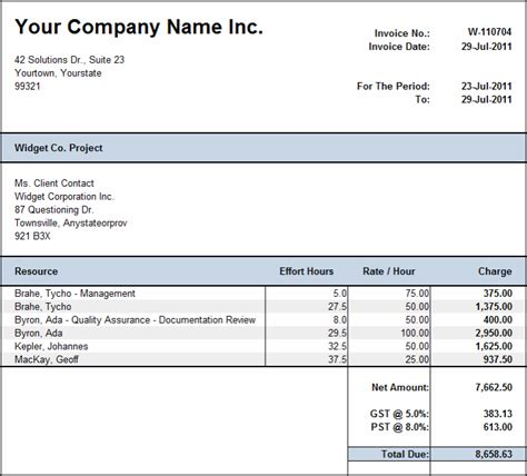 timesheet invoice template excel from sales invoice template arabic