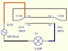 how to wire a two way light switch two way light switch wiring
