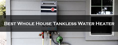 heat a water using whole house tankless water heater