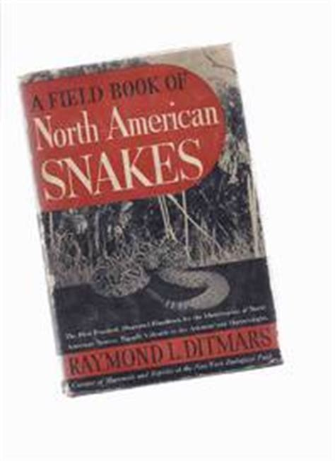 american snakes books field book of american snakes by ditmars raymond l
