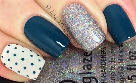 imagenes de uñas acrilicas azul marino lindisima blog u 241 as decoradas en azul