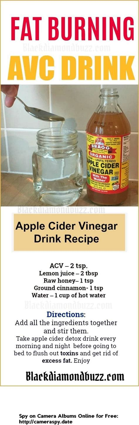 Is Acv A Detox To Drink Before Bed by Best 25 Braggs Apple Cider Ideas On Apple